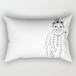 The Pug Rectangular Pillow