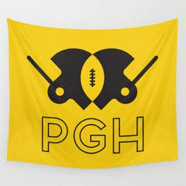 Pittsburgh Football Wall Tapestry