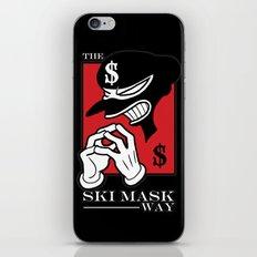 The Ski Mask Way iPhone & iPod Skin