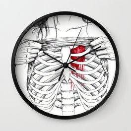 just because you don't see it doesn't mean I don't feel it. Wall Clock