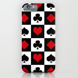 Playing card iPhone Case