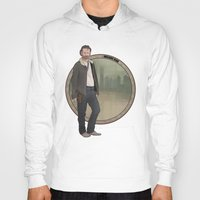 grimes Hoodies featuring Rick Grimes by Pikeymin