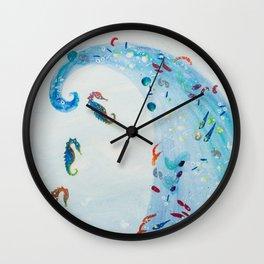 Sea Bound Brumbies Wall Clock