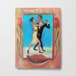Tango poster Metal Print