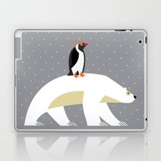 The Polar Bear and The Penguin Laptop & iPad Skin