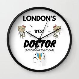 London's Best Doctor Wall Clock