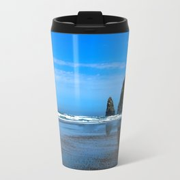 Haystack Rock Cannon Beach Travel Mug