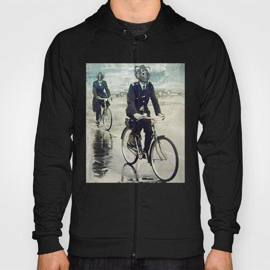 Cybermen on bikes Hoody