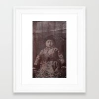 fear Framed Art Prints featuring Fear by Last Call