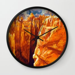Bryce Canyon National Park Wall Clock