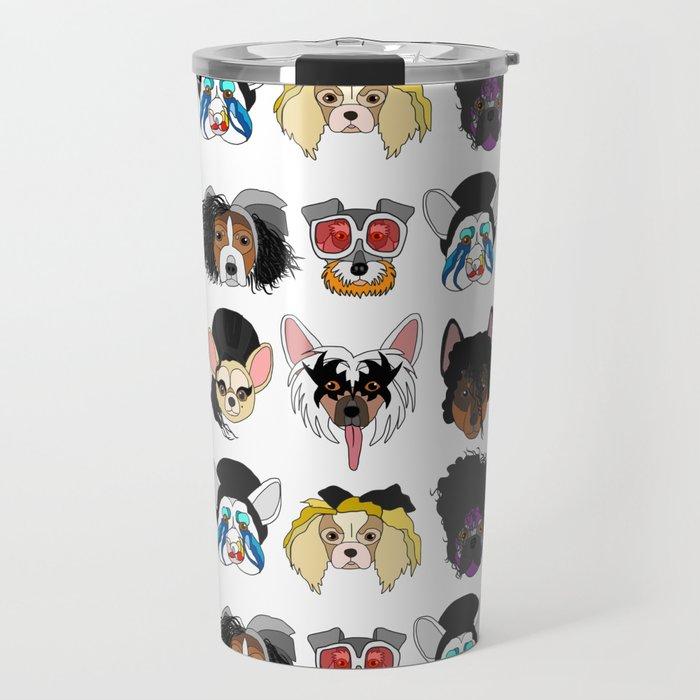 Pop Dogs Travel Mug