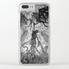 The Infernal Metaphor for an Apathetic Existence Clear iPhone Case