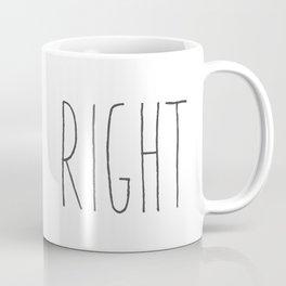 Samuel Brett Alien Right Coffee Mug