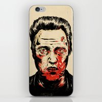 christopher walken iPhone & iPod Skins featuring Walken Dead by Chase Kunz