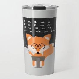 Teacher Fox Travel Mug