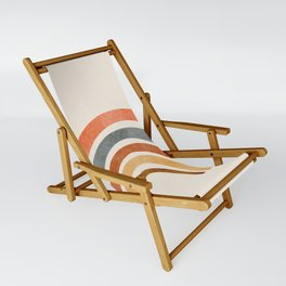 Abstract Rainbow 88 Sling Chair