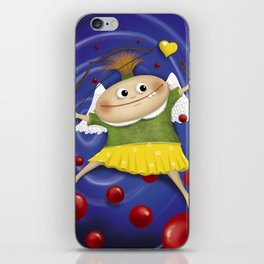 My little cupid.. iPhone Skin