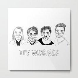 The Vaccines Metal Print