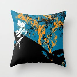 abstract 52 Throw Pillow