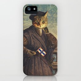 Jacques 'Chat'tier iPhone Case