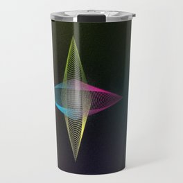 Geometrique 001 Travel Mug