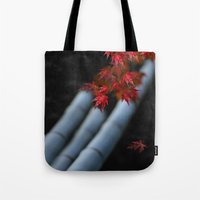 bamboo Tote Bags featuring Bamboo by Anne Seltmann