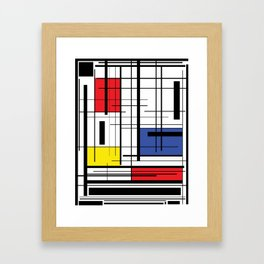 Color In The Lines Framed Art Print