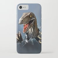 dinosaur iPhone & iPod Cases featuring dinosaur by Antracit