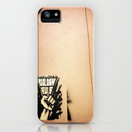 The Golden Rule iPhone Case