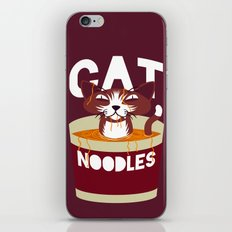 Cat Noodles iPhone Skin