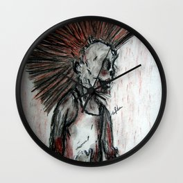 Punk is UnDead Wall Clock