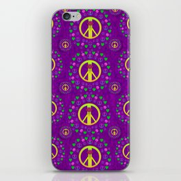 Peace be with us in love and understanding iPhone Skin