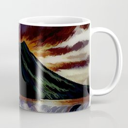 When The Pant Suit When On Vacation Alone Coffee Mug
