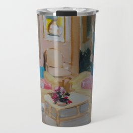 Golden Girls living room Travel Mug