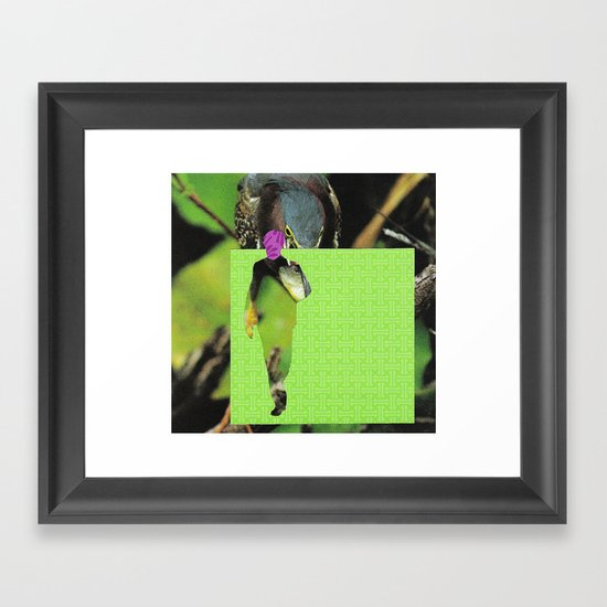 Don Draper, Who Are You Really?  Framed Art Print