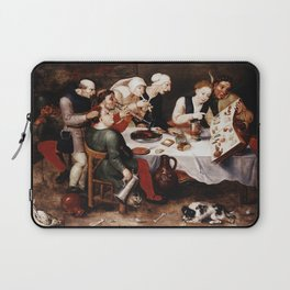 Hieronymus Bosch - The Bacchus Singers Laptop Sleeve