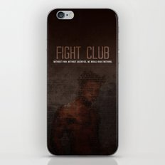 Fight Club  iPhone Skin