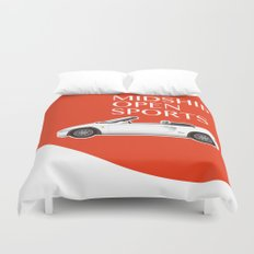 Midship Open Sports Duvet Cover