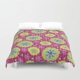 Kantha floral 6 Duvet Cover