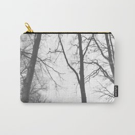 Tree Symphony (shades of grey) Carry-All Pouch