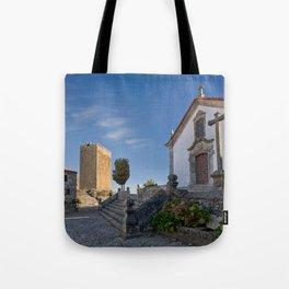 Linhares castle, Portugal Tote Bag