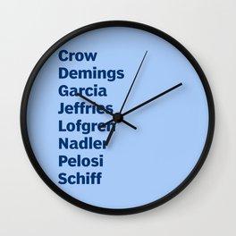 American Heroes Wall Clock