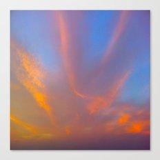 Sun and Sky Canvas Print