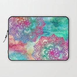 Round & Round the Rainbow Laptop Sleeve