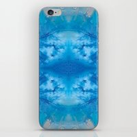 stargate iPhone & iPod Skins featuring The Zeta Stargate by katy zimmerman