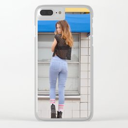 TiCKET BOOTH Clear iPhone Case