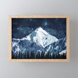 Alaska Night Sky 1 Framed Mini Art Print