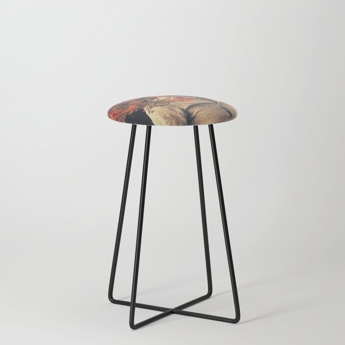 Roots Counter Stool