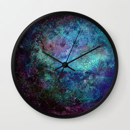 Kepler-22b blue gradient Wall Clock