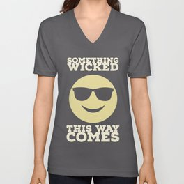 Something Wicked This Way Comes - Badass Shakespeare (Alternative) Unisex V-Neck